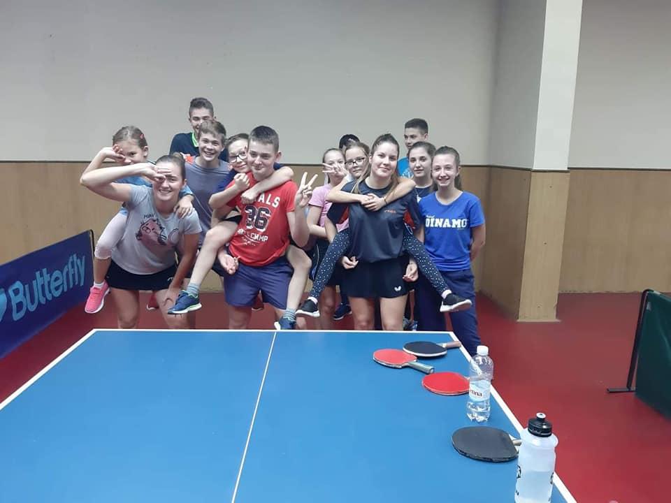 POTPUNO BESPLATNO Kreće škola stolnog tenisa za najmlađe