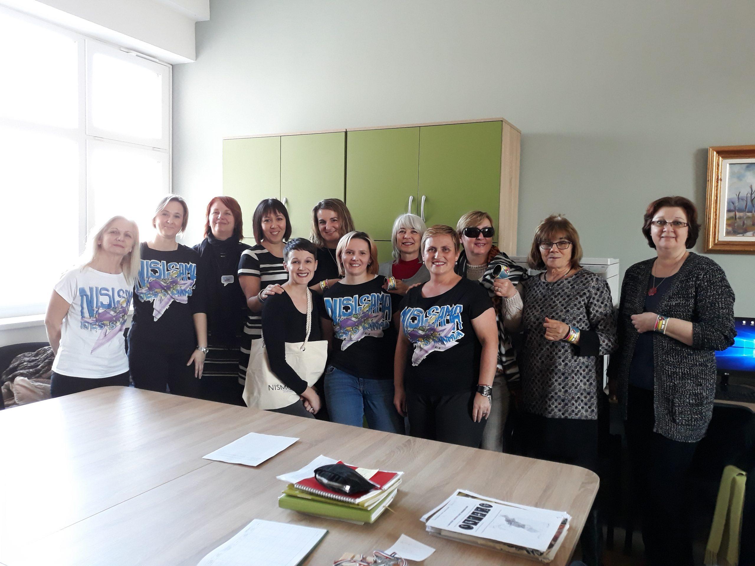NISMO SAME Garešničanke majicama pomažu do prijevoza na kemoterapije