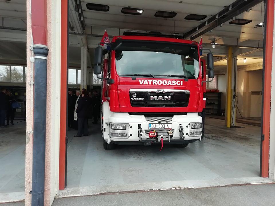 ZA VEĆU SIGURNOST Bjelovarski vatrogasci dobili novo vozilo