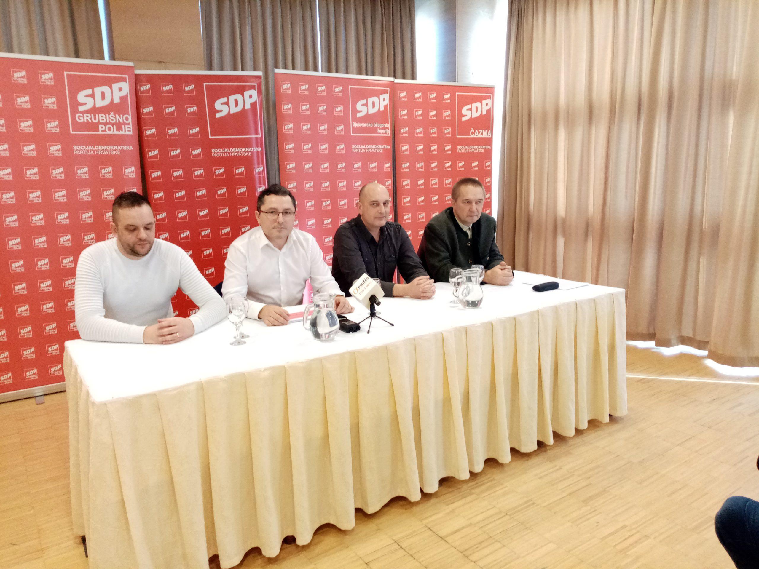 SKUP U BJELOVARU SDP-ovci tvrde da imaju plan za spas poljoprivrede