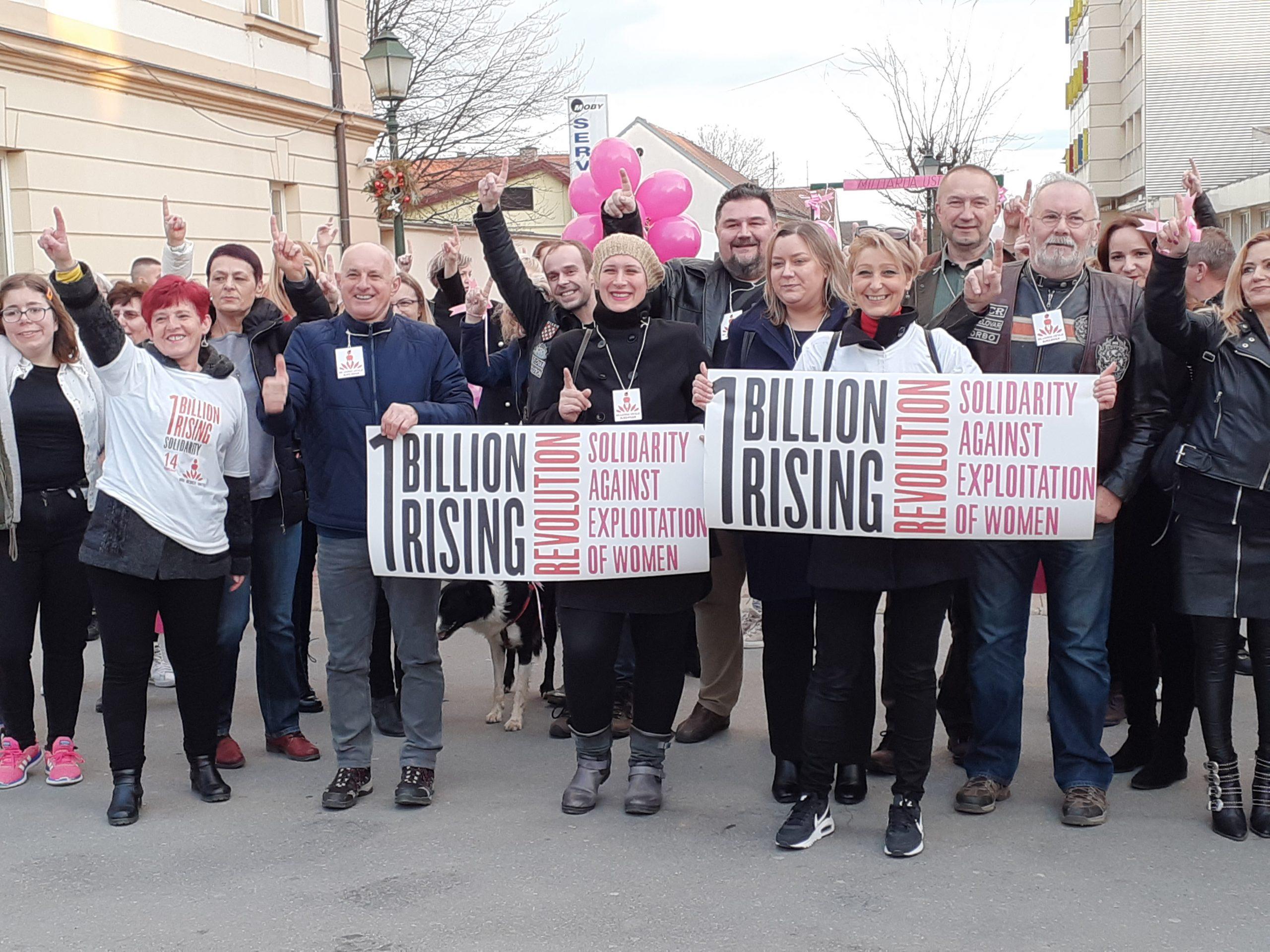 MILIJARDA USTAJE Protiv nasilja je plesao i Bjelovar