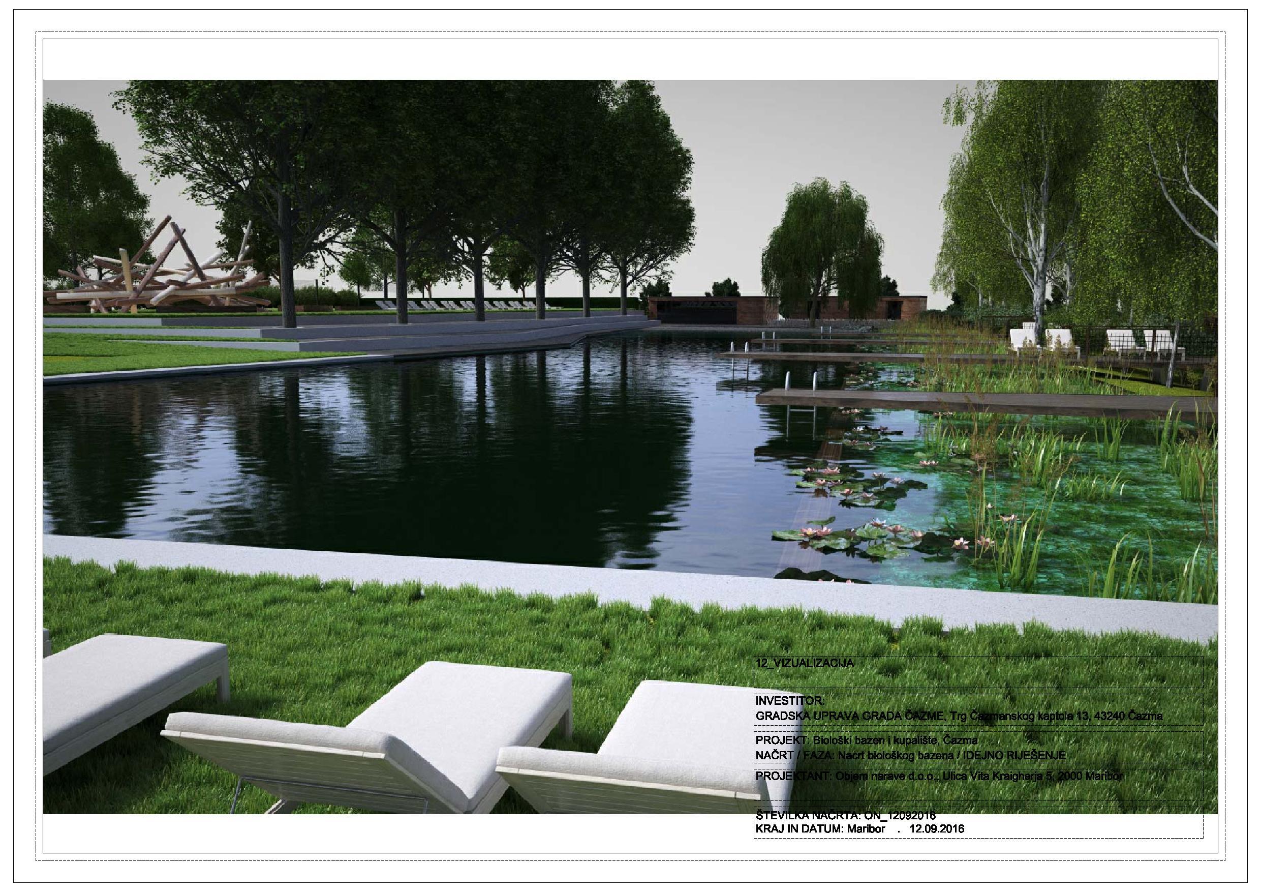 ČAZMA NATURA Uskoro gradnja srca cijelog projekta – bazena
