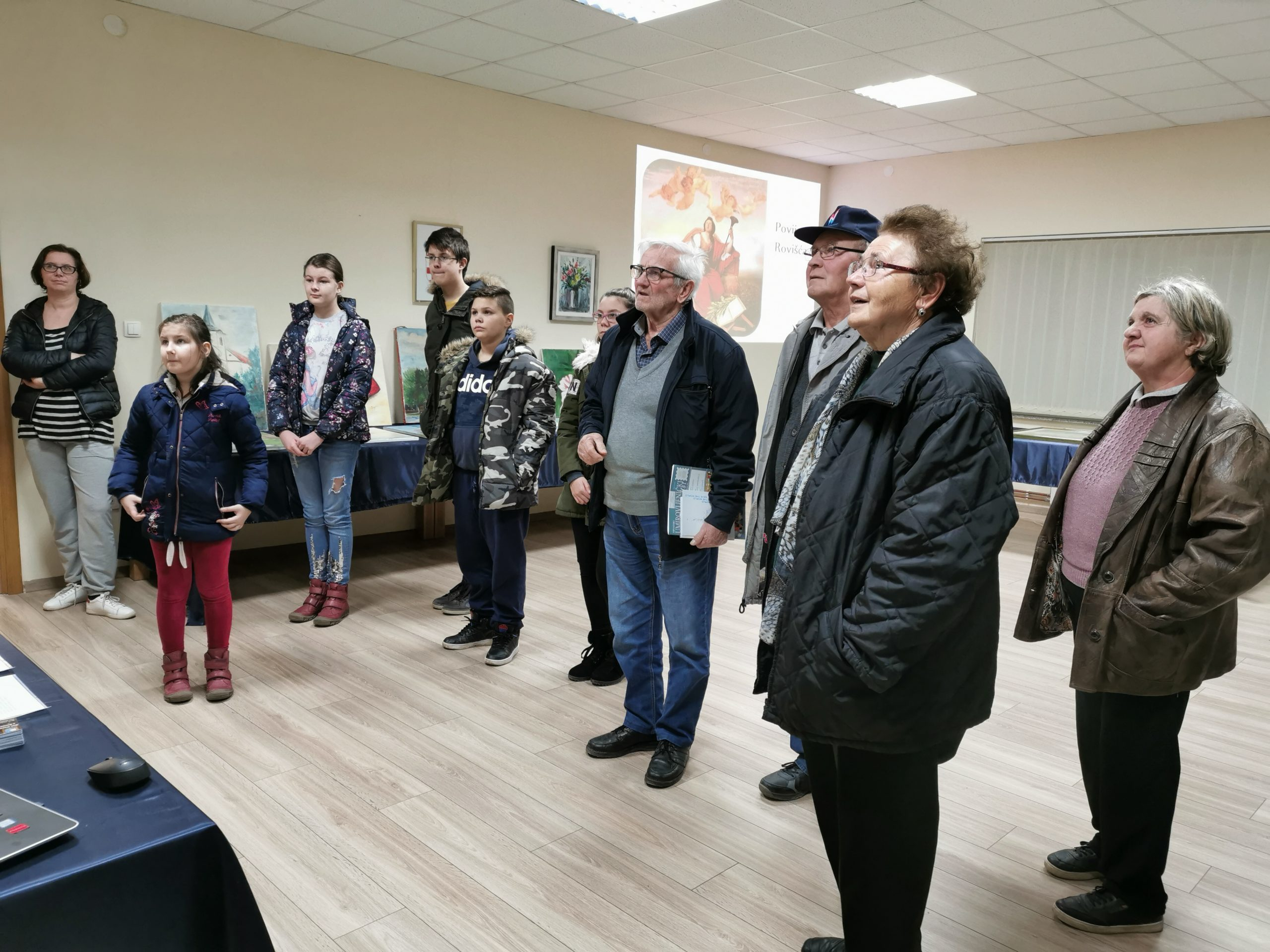 BOGAT PROGRAM Uspješna prva Noć muzeja u Rovišću