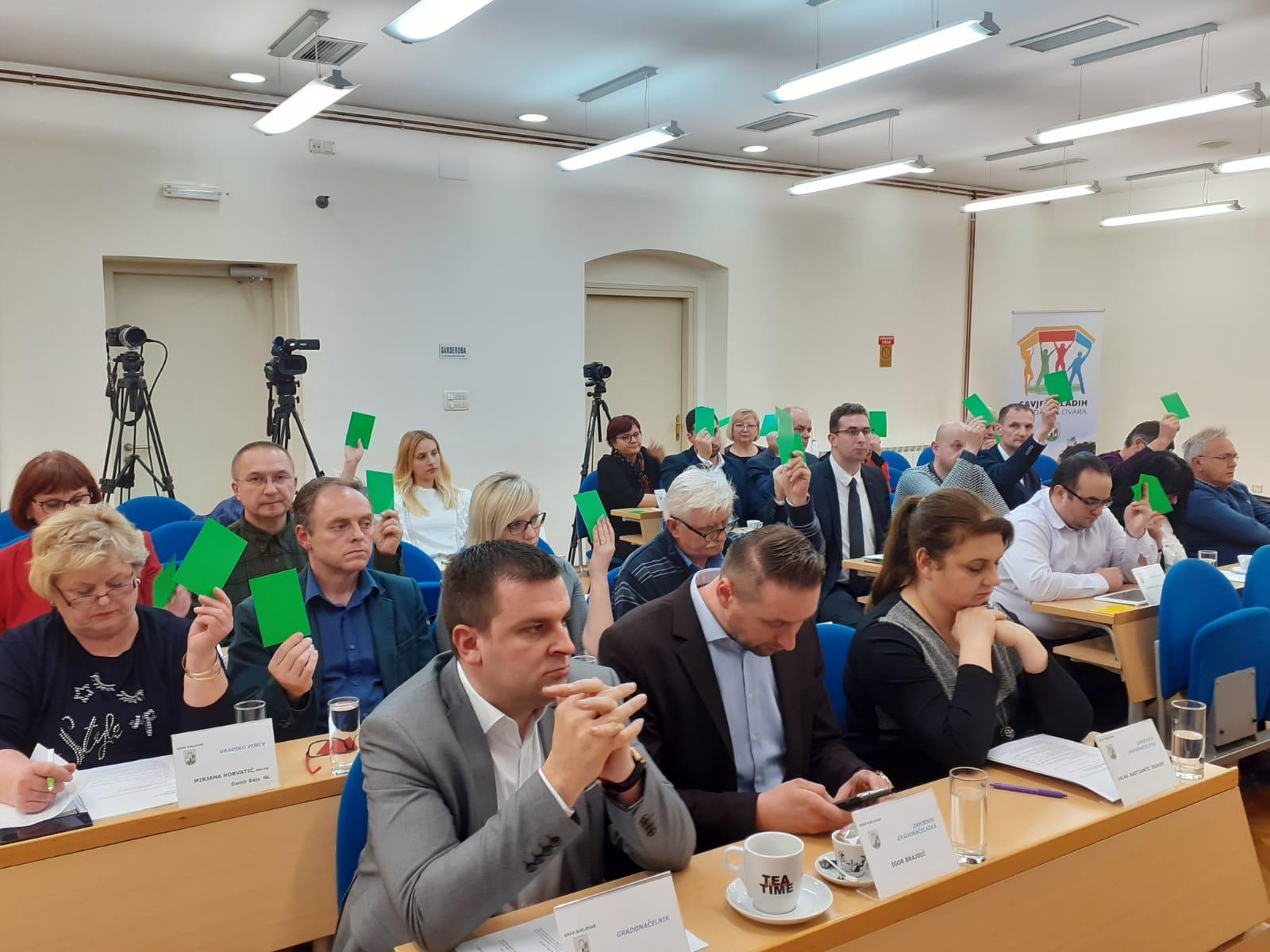 ODLUČILI Oporbeni vijećnici dignut će ruku za bjelovarski proračun