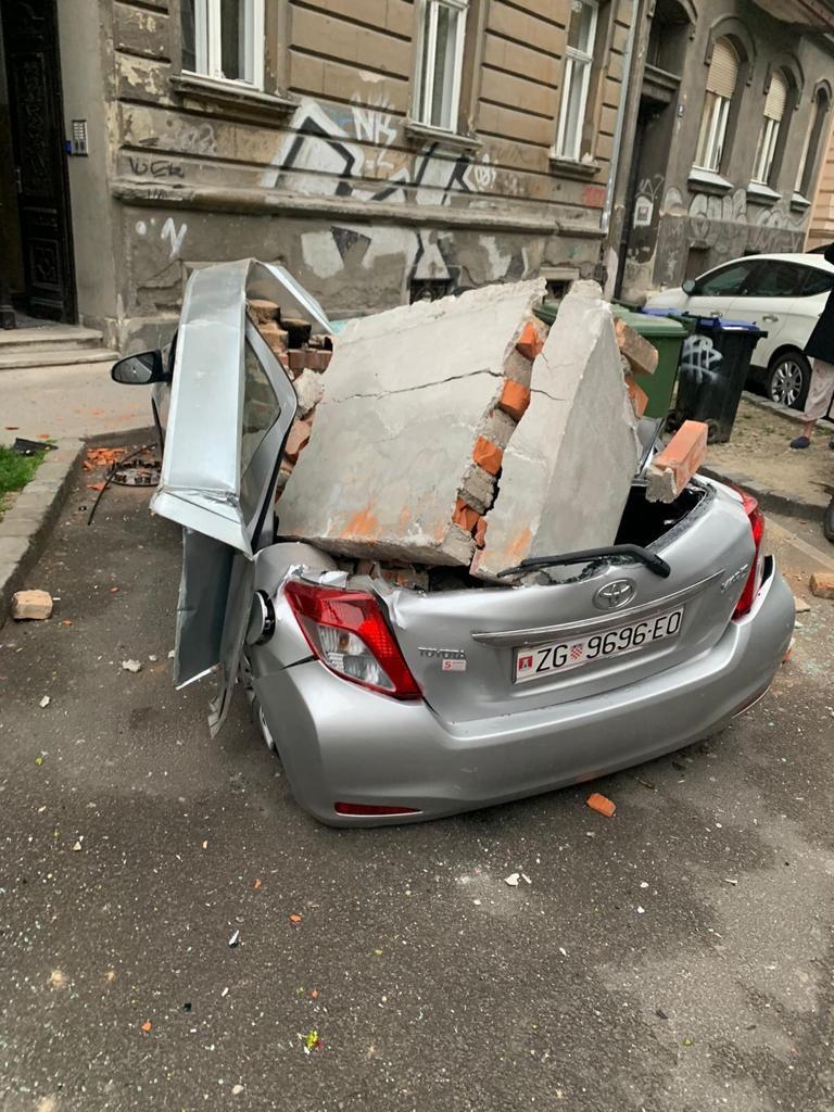 ŠOKANTNE FOTOGRAFIJE Velike štete u Zagrebu, ima i ozlijeđenih