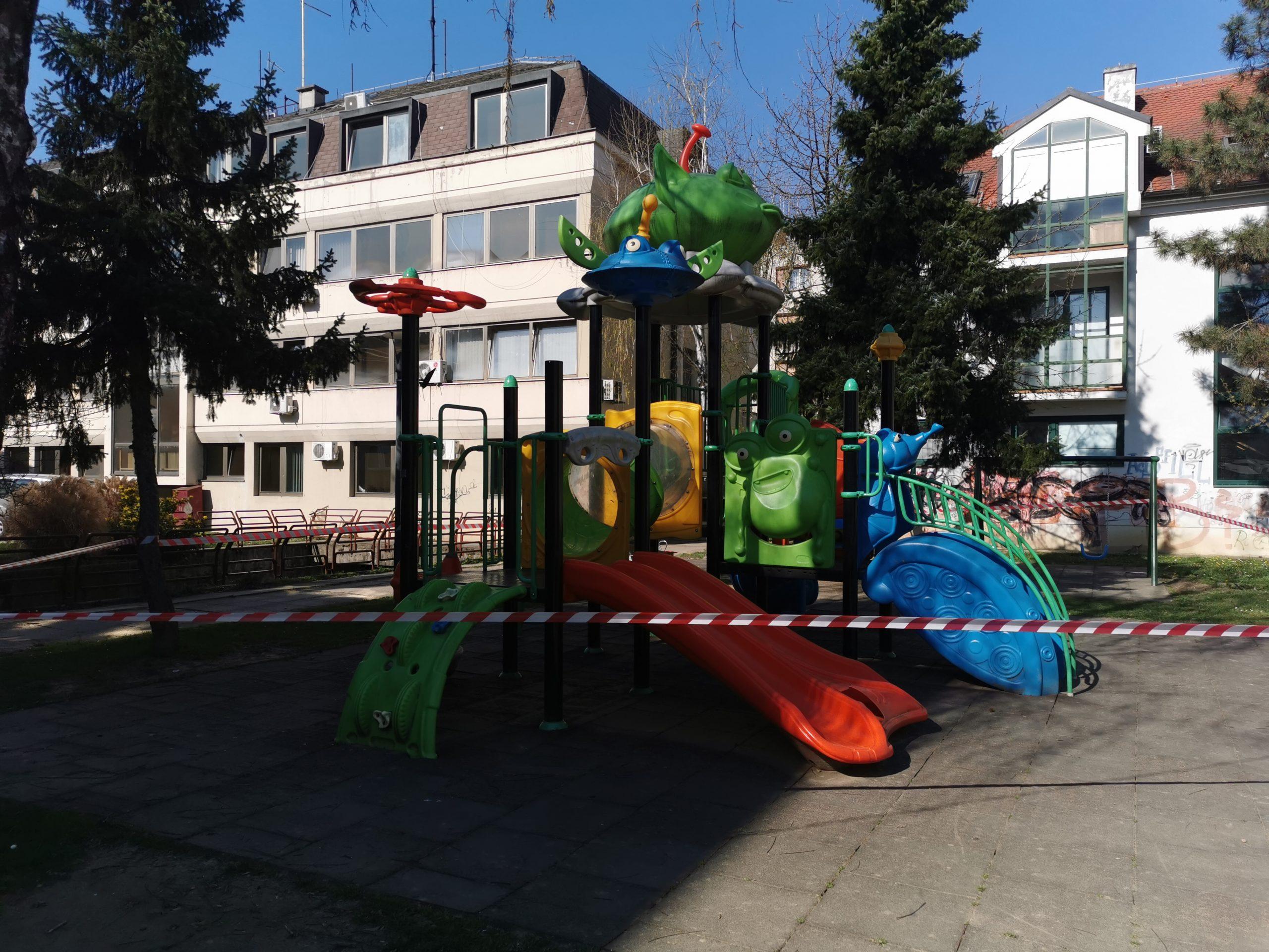 NOVA MJERA Zatvorena dječja igrališta, roditelje se moli da poštuju pravila