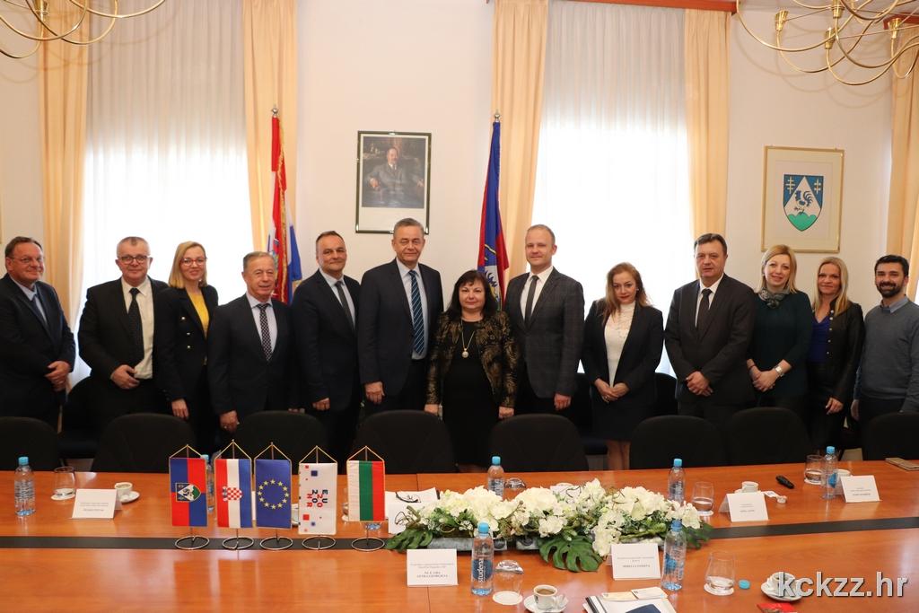 GOŠĆA IZ BUGARSKE Veleposlanica pohvalila suradnju dviju zemalja