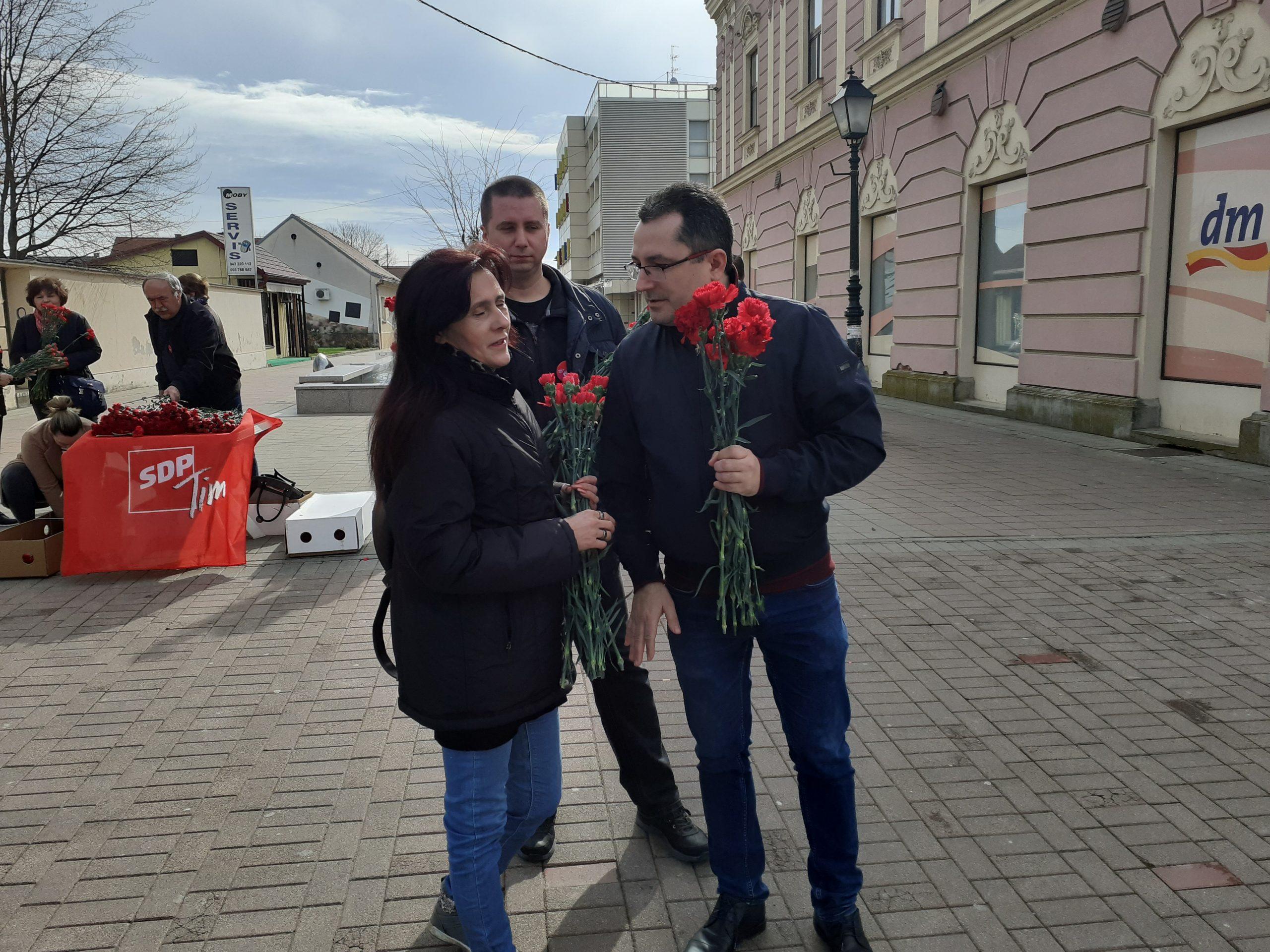 PRAZNIK RADA Županijski SDP-ovci uputili čestitku poručivši da im je radnik na prvom mjestu