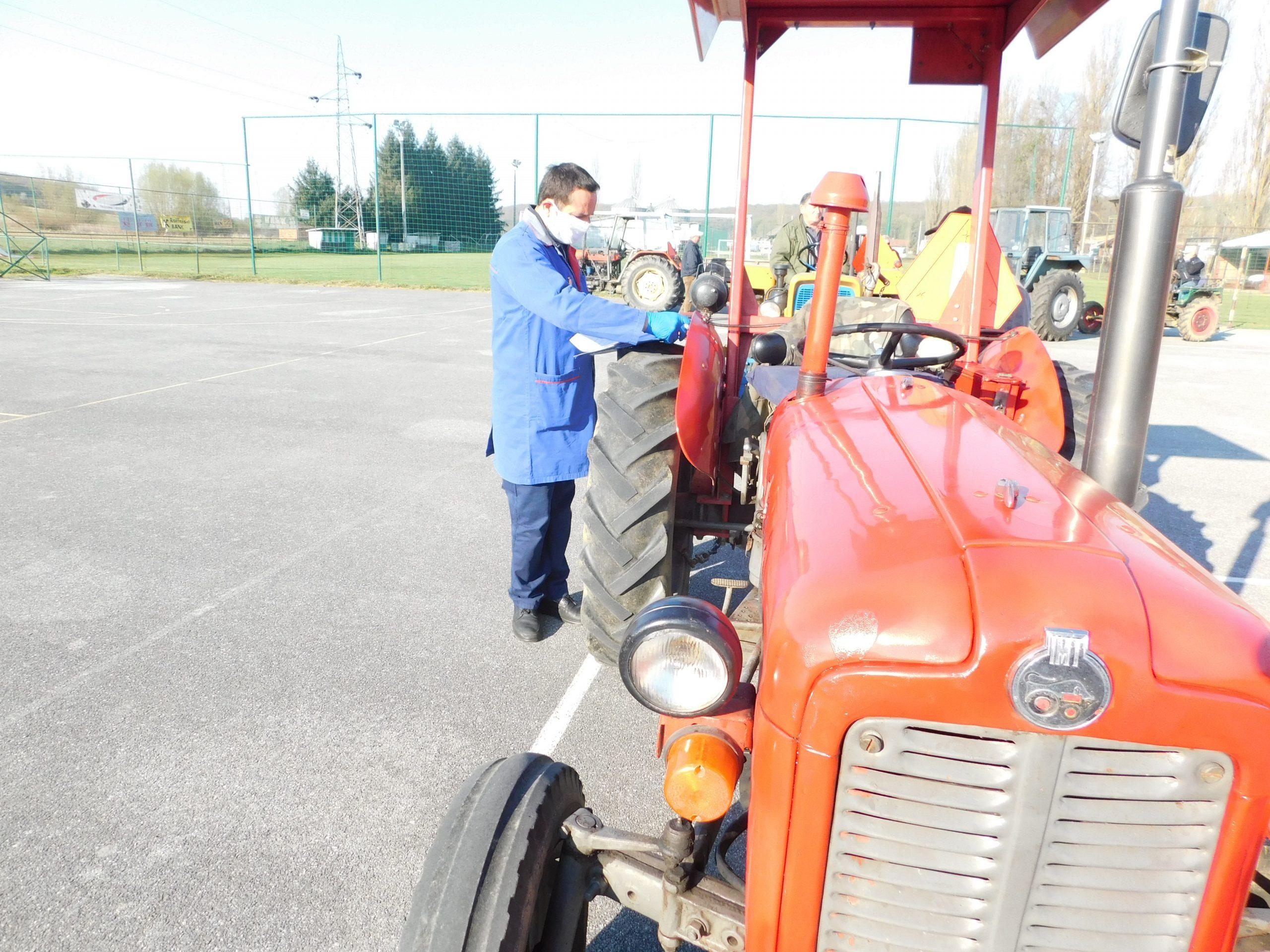 REGISTRACIJA TRAKTORA Poljoprivredni poslovi ne mogu čekati