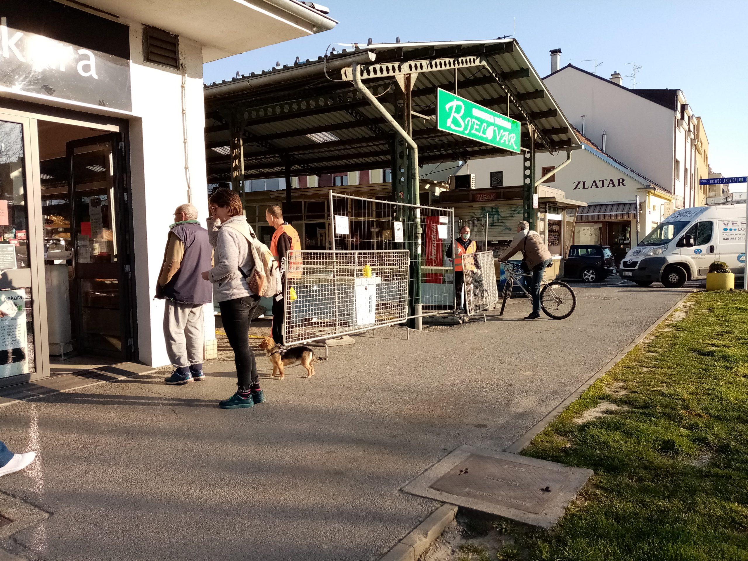 PRIJE SLUŽBENE ODLUKE Tržnica otvorena u skladu s preporukama, no prerano