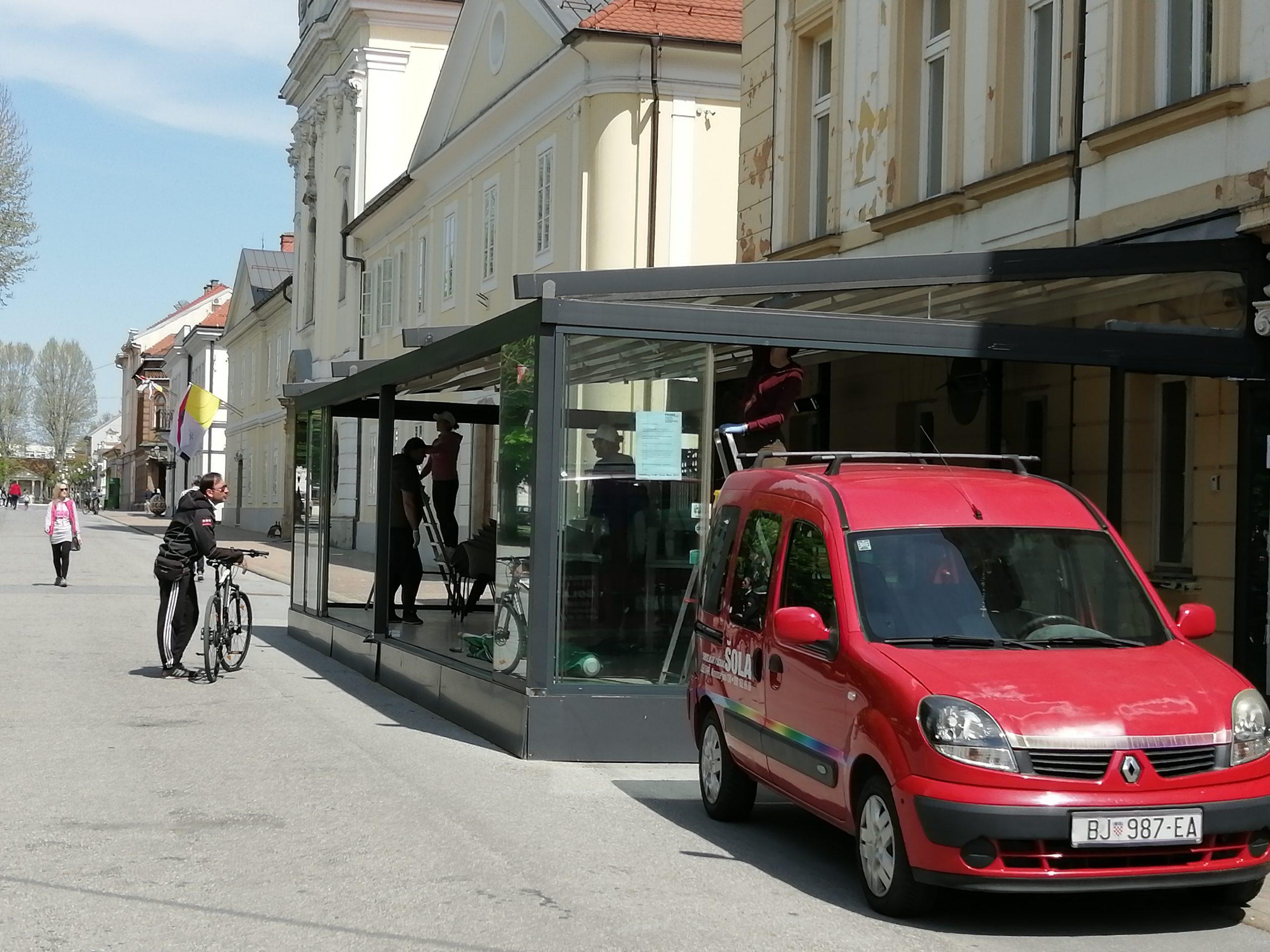 ČEKAJU UPUTE Bjelovarski ugostitelji spremaju se za otvaranje