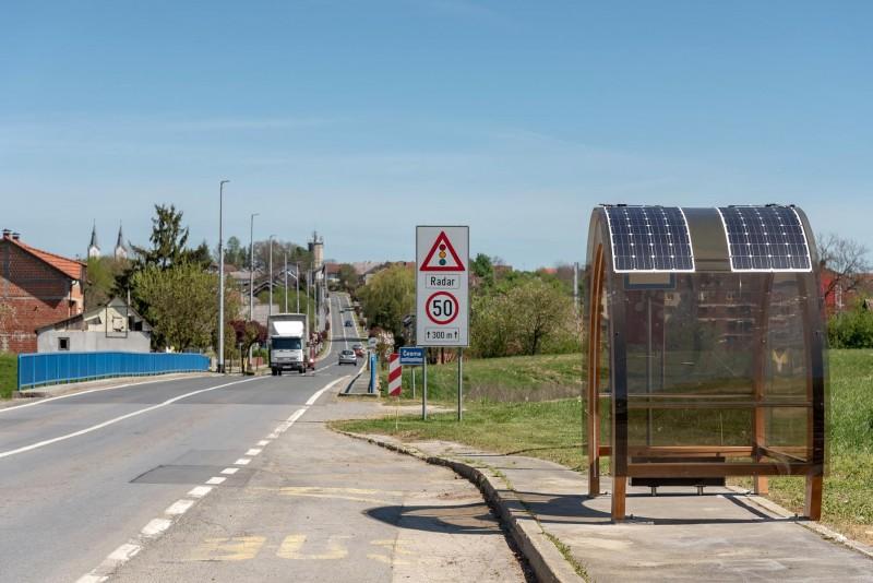 ČAZMANSKO ČUDO Postavili 'pametnu' autobusnu nadstrešnicu