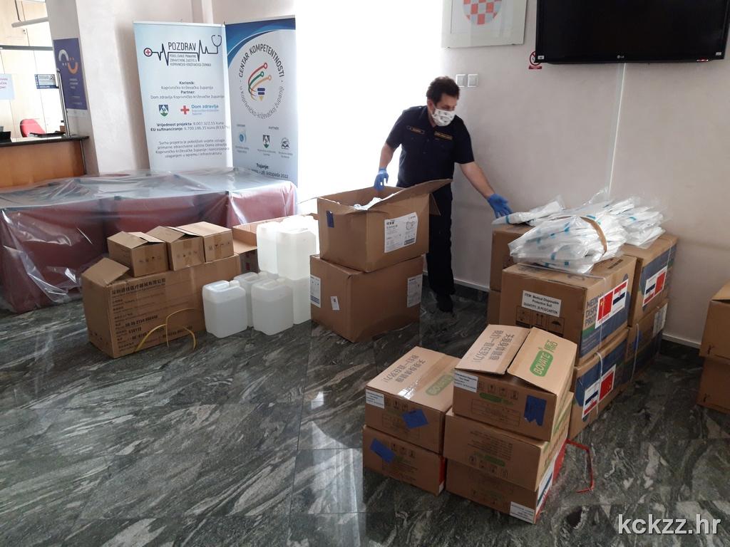 DONACIJA Stigla medicinska oprema za domove i socijalnu skrb