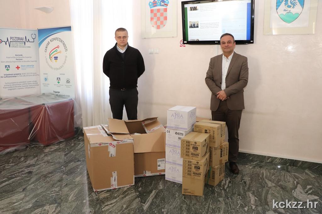 VRIJEDNA DONACIJA Stiglo 17 tisuća komada medicinske opreme