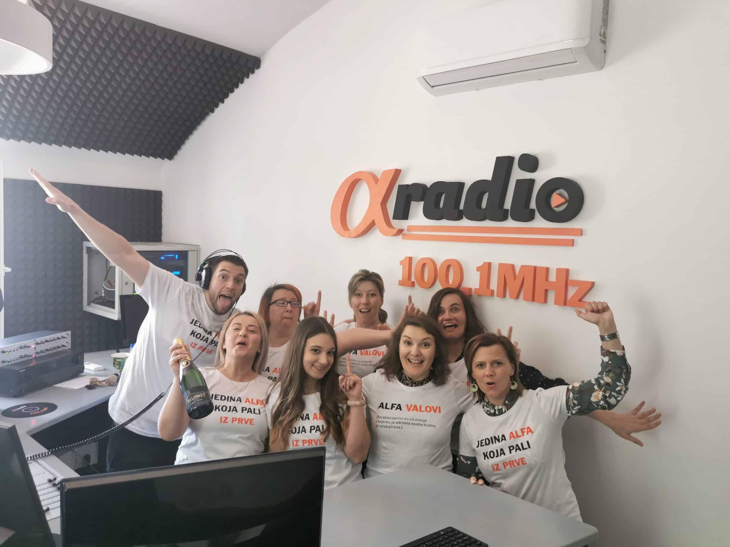 ALFA ROĐENDAN Najslušaniji radio u Bjelovaru i BBŽ osvaja središnju Hrvatsku
