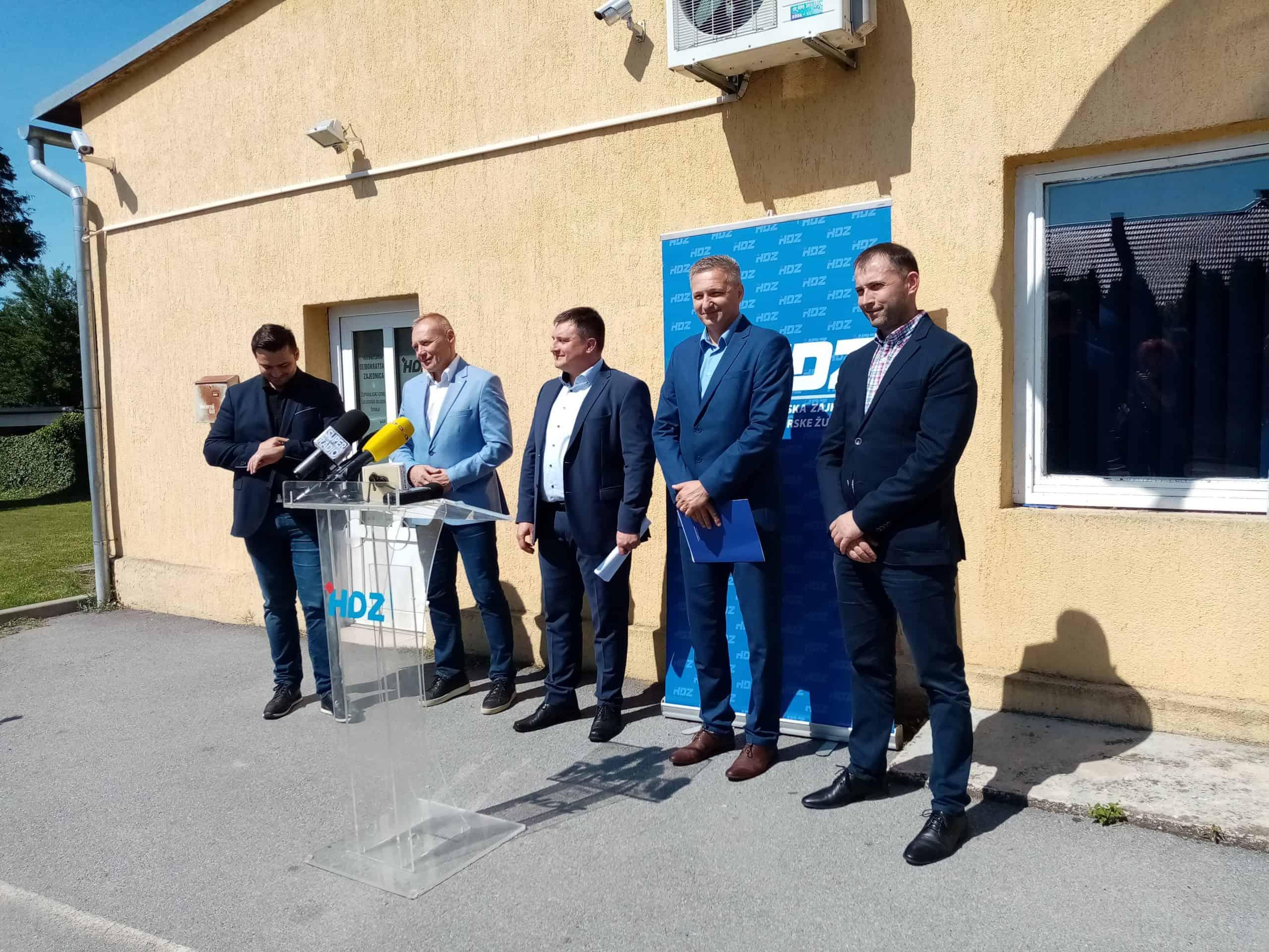HDZ BBŽ TVRDI Ni najbliži Bajsovi suradnici neće Berinu koaliciju!