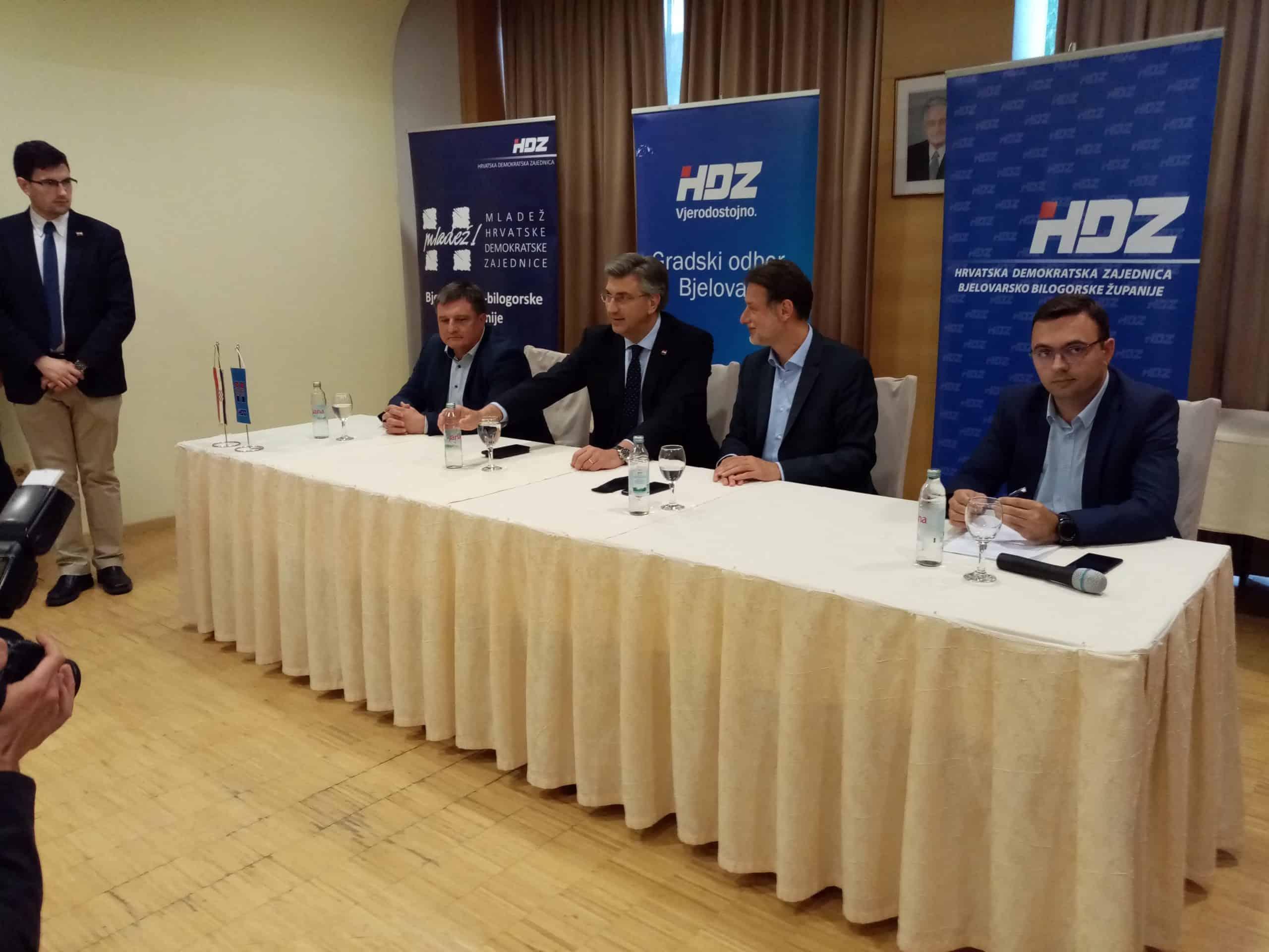 PARLAMENTARNI IZBORI Glas za HDZ, glas za sigurnu Hrvatsku!