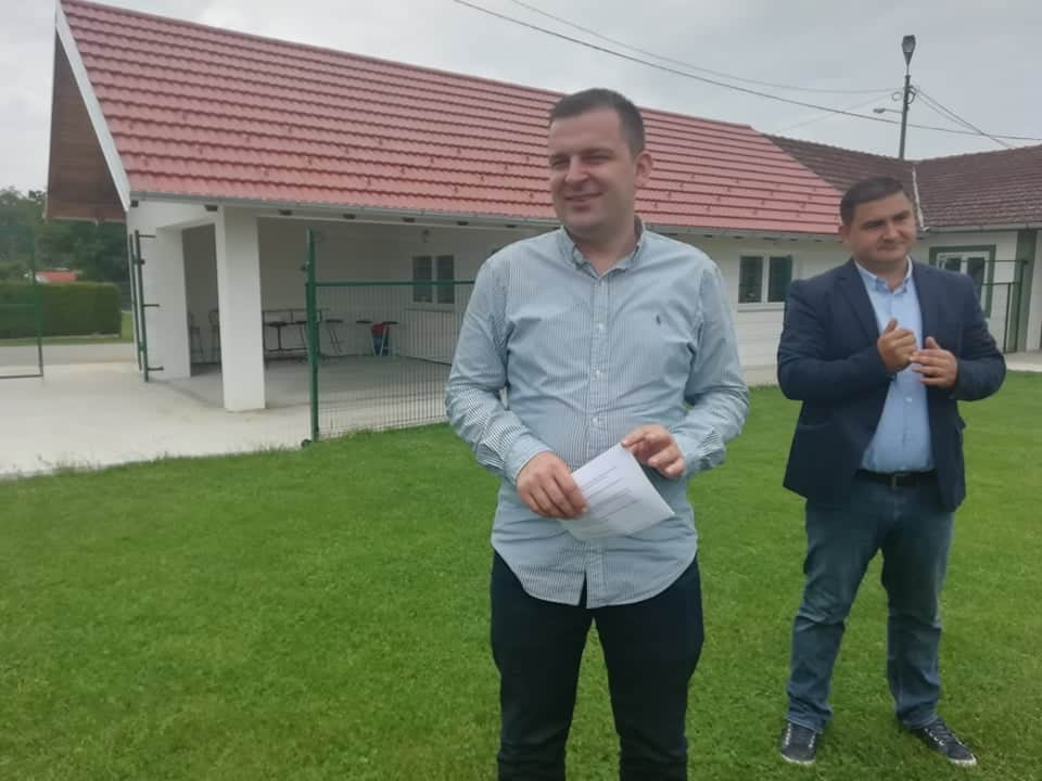 SPORTSKA INFRASTRUKTURA Novo ruho prostorije NK Brezovac