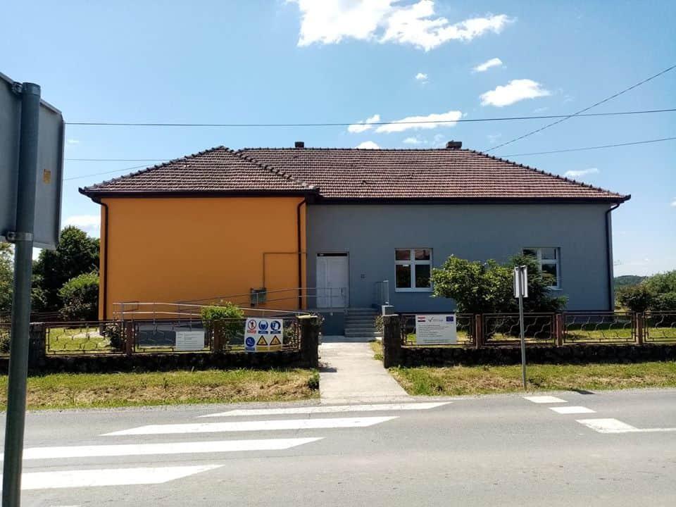PRI KRAJU Područna škola u Grabovnici dobiva novo ruho