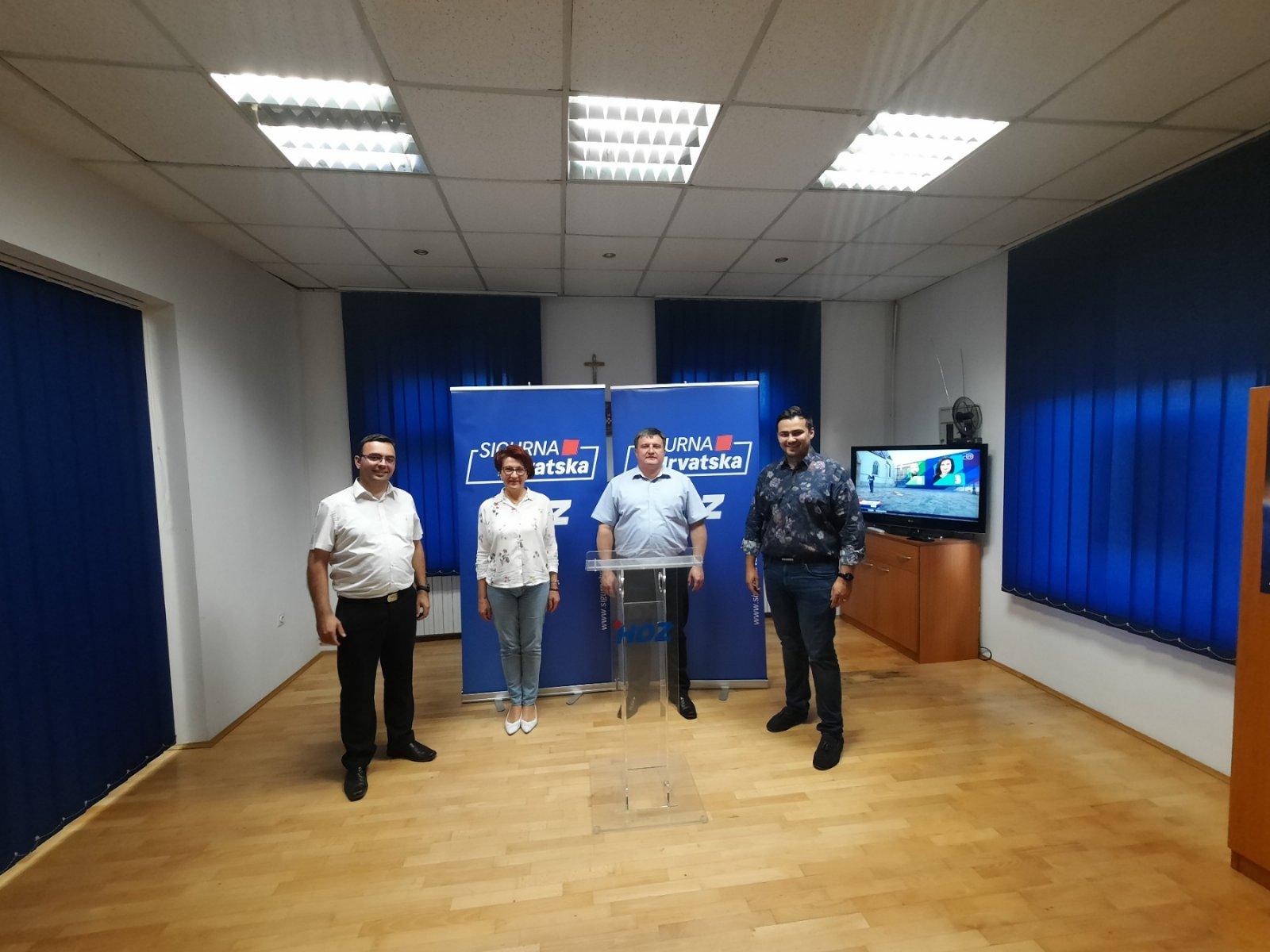 HDZ O BBŽ MAILOVIMA 'Svojim očitovanjem župan se izruguje javnosti!'
