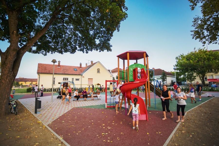 DJEČJA IGRALIŠTA Prava oaza za djecu iz virovitičkog Milanovca