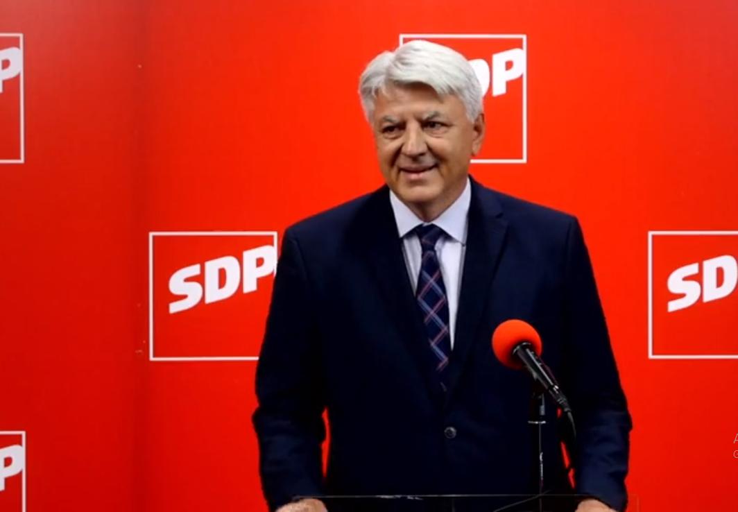 KOMADINA POTVRDIO Mandat koji je osvojio Bajs konzumirat će SDP