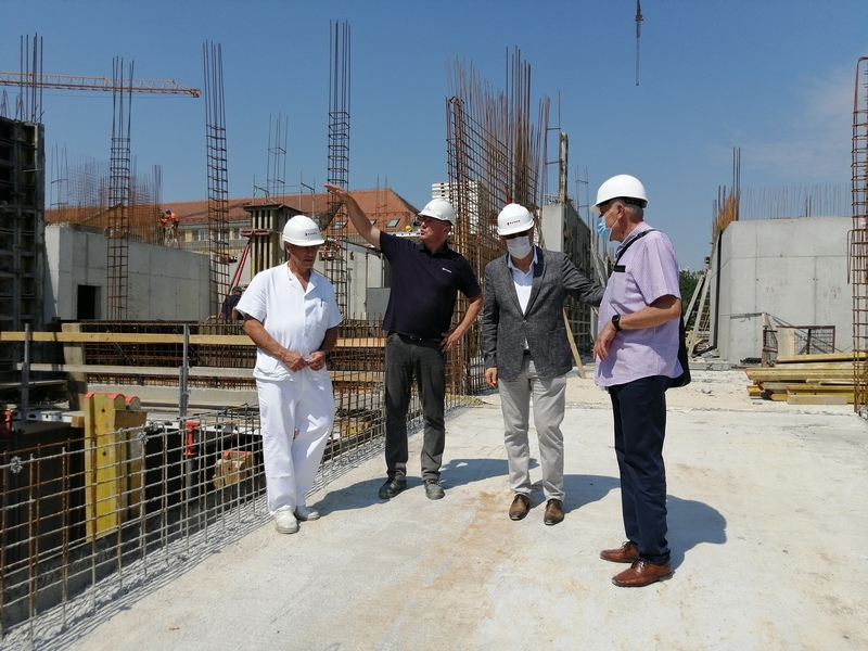 NOVA BOLNICA Unatoč manjku radnika, zgrada će biti pod krovom do listopada