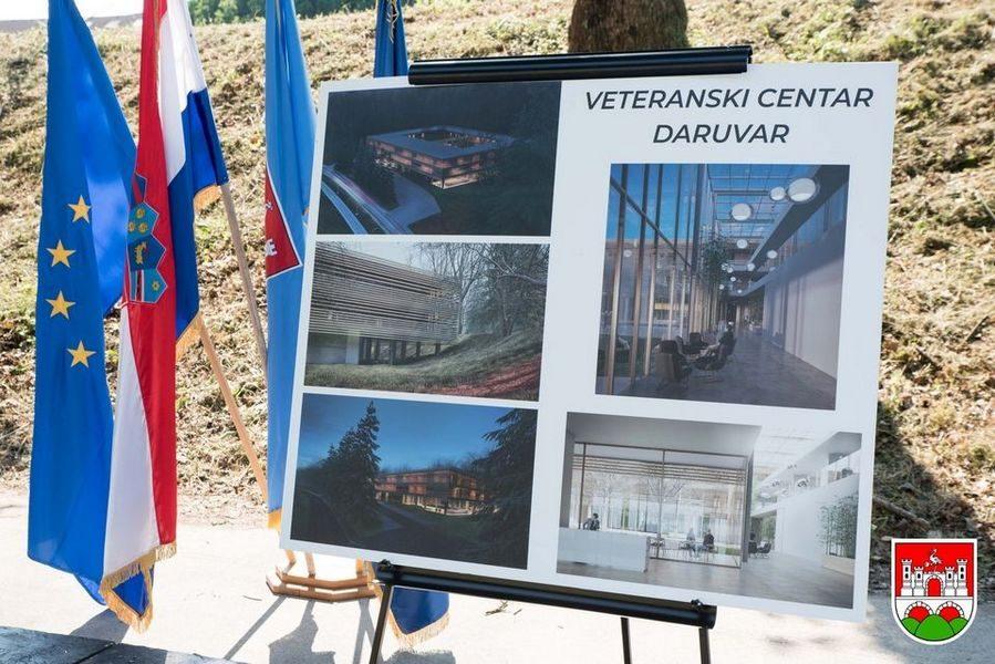 SVE PREMA PLANU Pripremaju se temelji za Veteranski centar