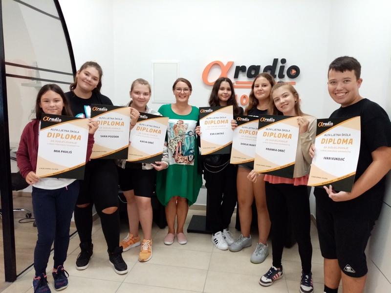 MEDIJSKA PISMENOST Alfa ljetna škola okupila školarce željne znanja i zabave