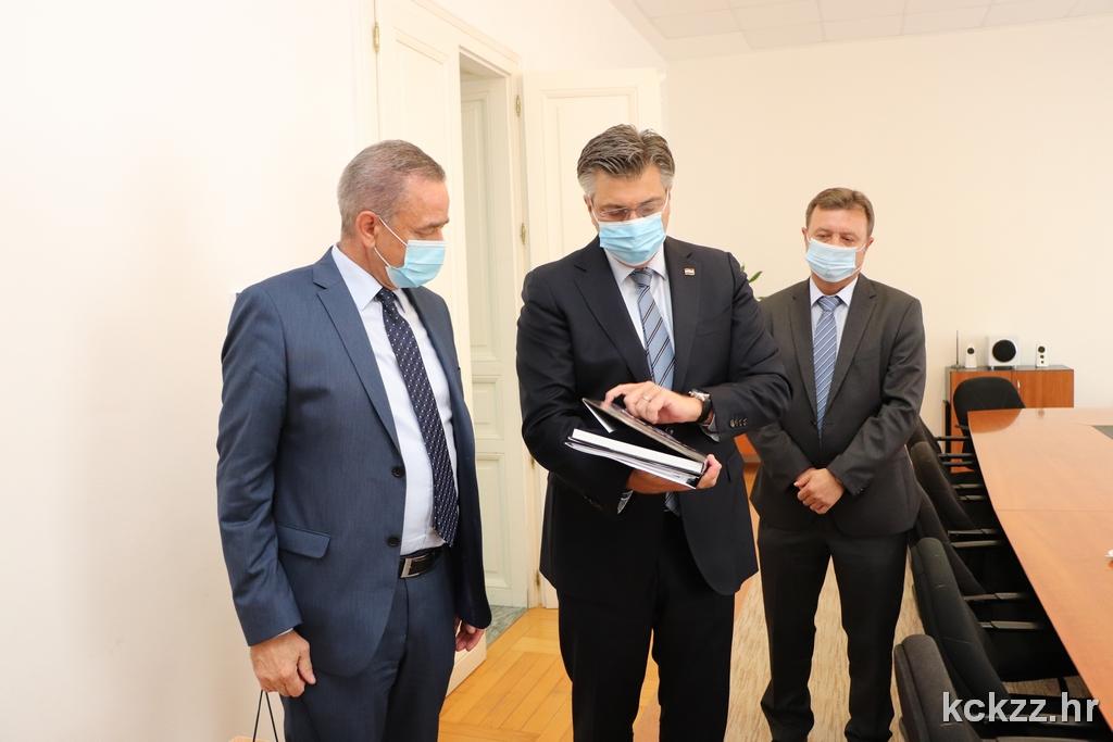 SLUŽBENI POSJET Premijer potvrdio podršku kapitalnim projektima u KKŽ