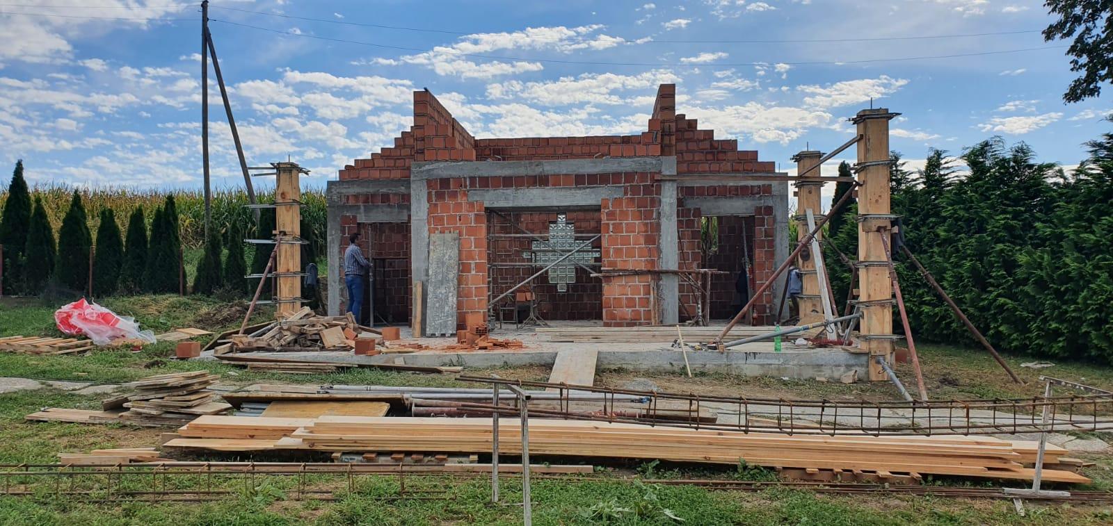RADOVI Započela je izgradnja mrtvačnice, a uređuje se i dom