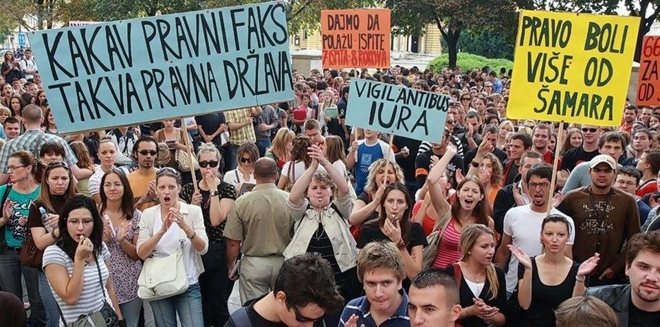SKUPLJE ŠKOLARINE Studenti Pravnog fakulteta ogorčeni, organiziraju prosvjed