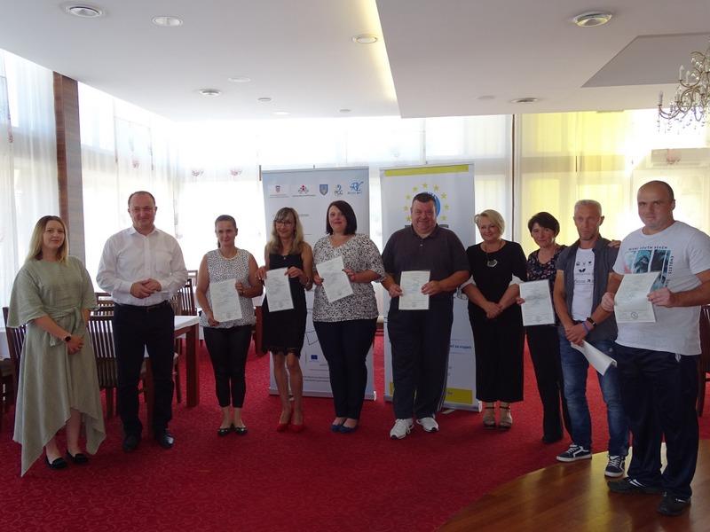 RAJSKI VRT Uručene diplome polaznicima europskog projekta
