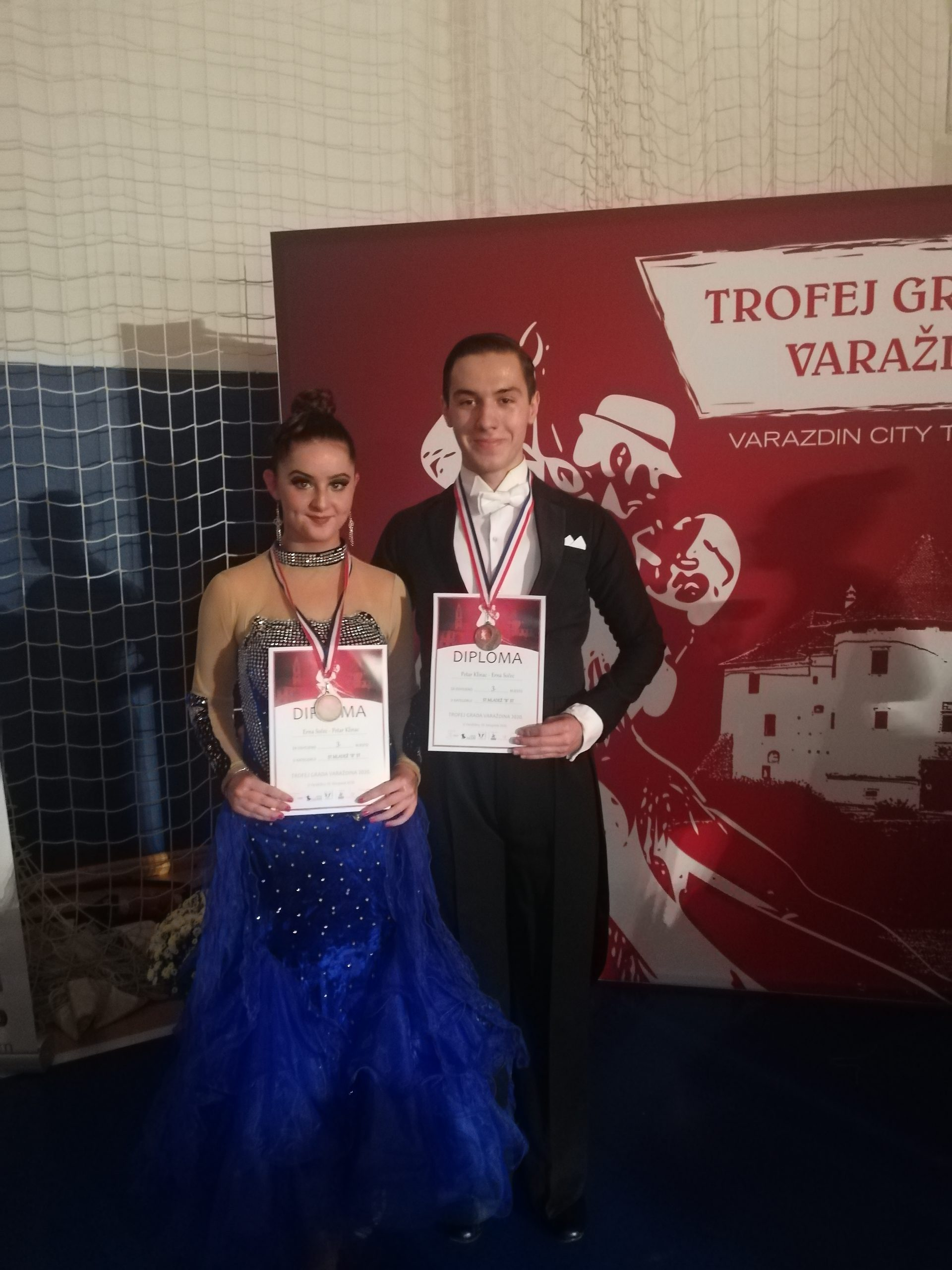 NOVI USPJEH Bjelovarski plesači iz Varaždina stigli s hrpom medalja