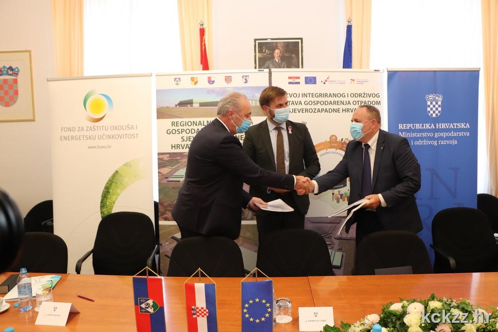 RCGO PIŠKORNICA Potpisan ugovor za projekt vrijedan 450 milijuna kn
