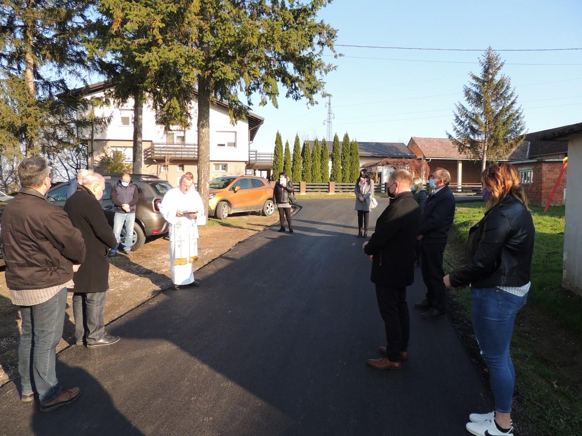 CESTE Obnovljena najkritičnija prometnica na području Ivanske