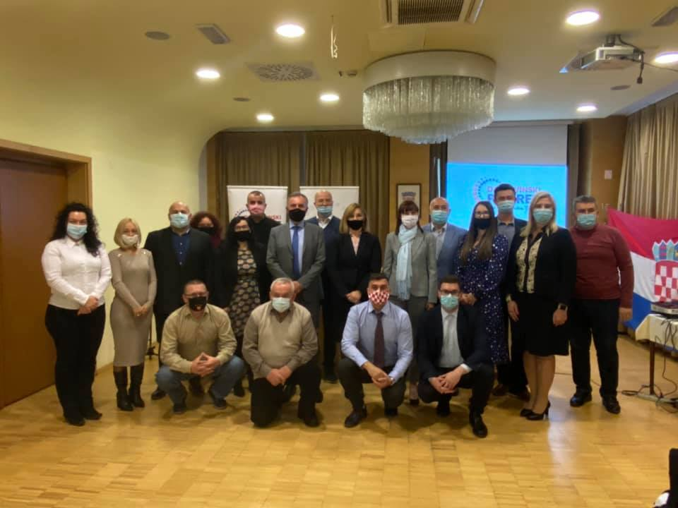 DOMOVINSKI POKRET Prva podružnica osnovana u Bjelovaru