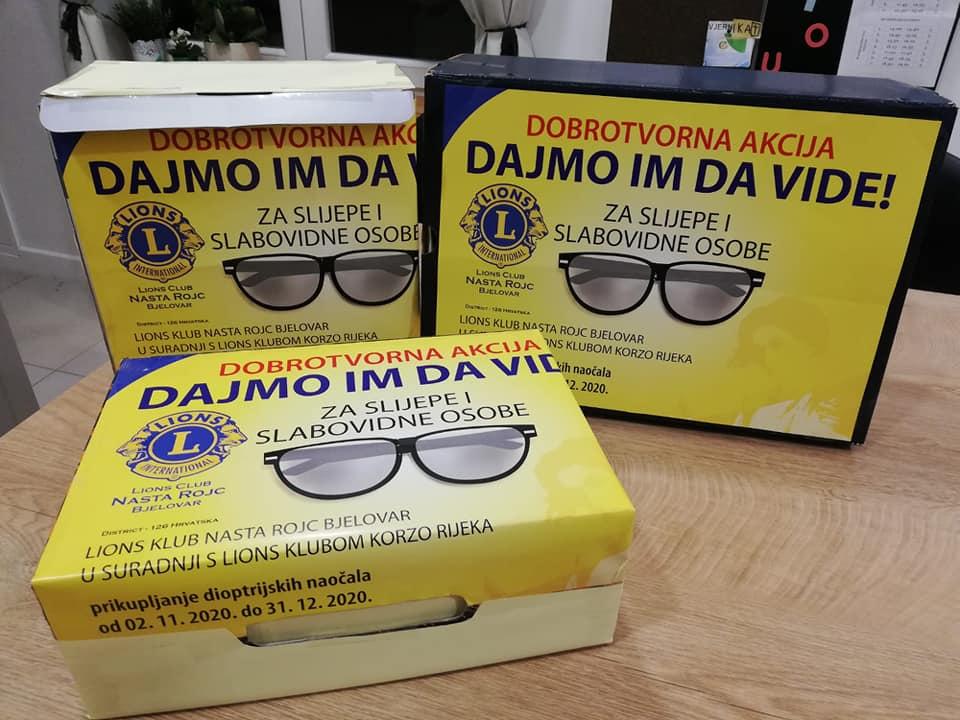 HUMANITARNA AKCIJA Stare, otpisane, dioptrijske naočale nekome mogu donijeti novi život