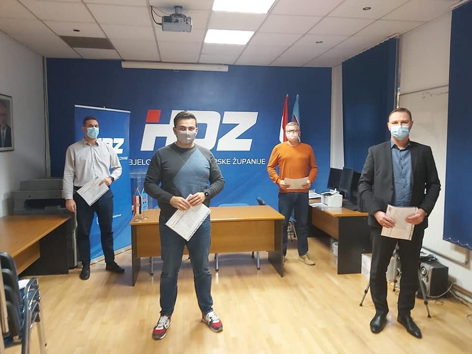 IZBORIMA USUSRET Topalović i suradnici predali kandidature za Bjelovar