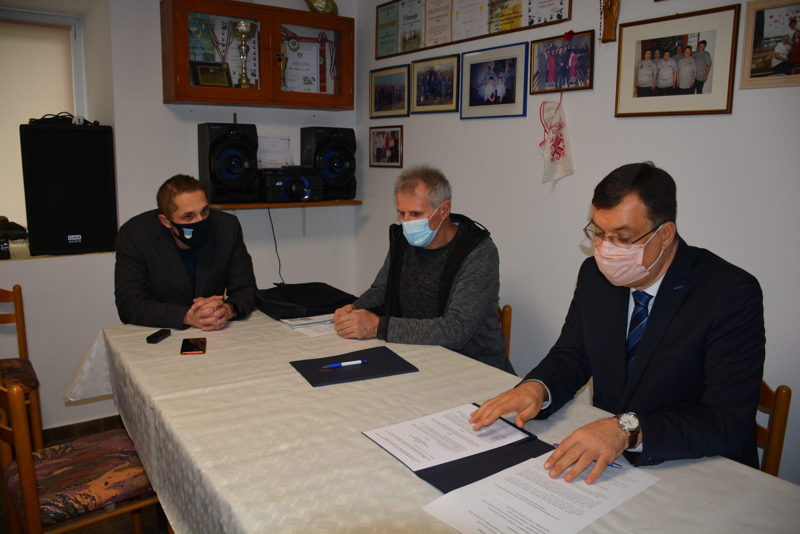 BRIGA ZA STARIJE Županija potpisala ugovor s još jednom Maticom