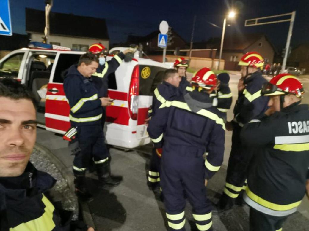 PRIJEKOPOTREBNA POMOĆ Uključili se vatrogasci, HGSS i Podravka