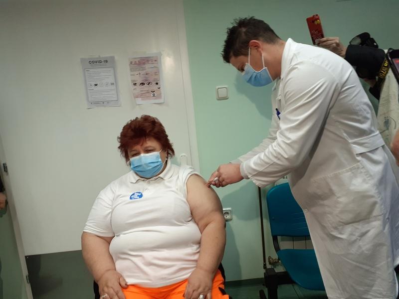 POČELO CIJEPLJENJE Doktorica Ileković-Pejić je probila led