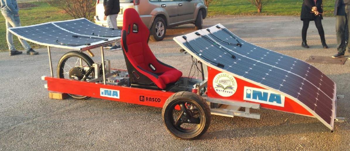 ĐURĐEVAČKI GENIJALCI Predstavili sjajne projekte, među kojima i solarno vozilo
