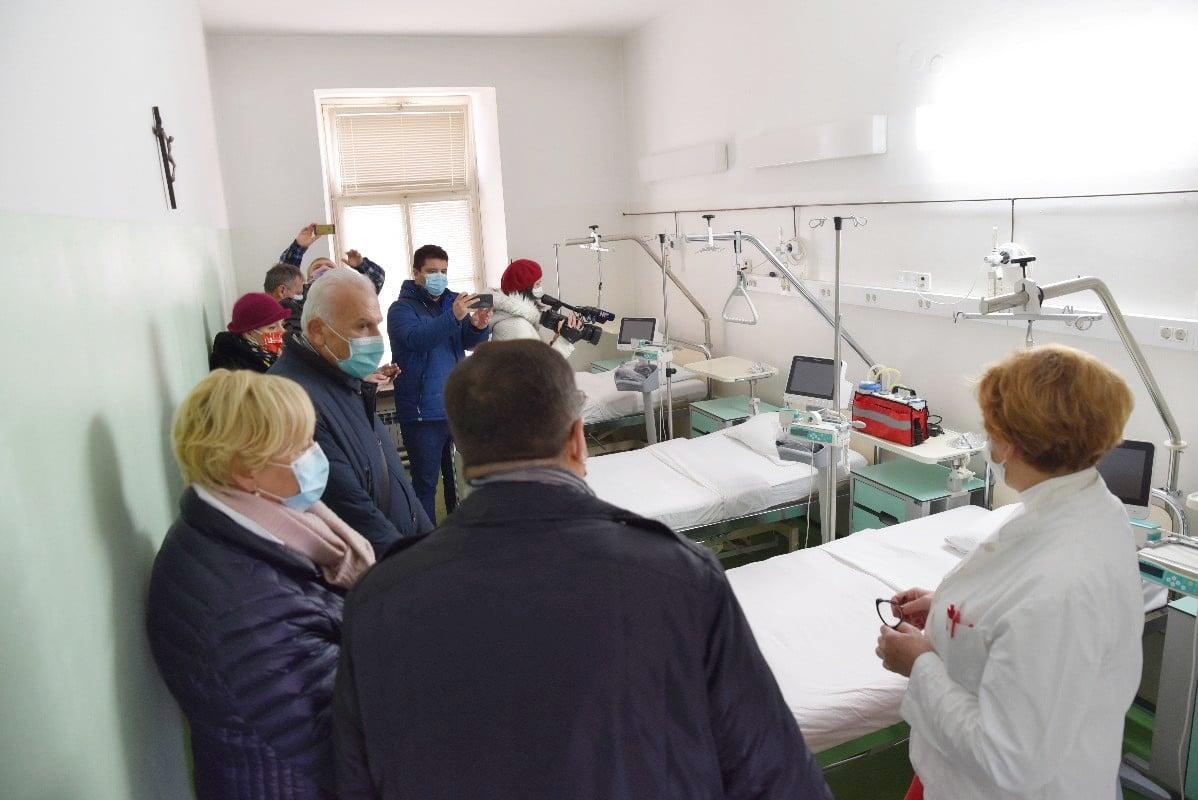 PROŠIRENJE KAPACITETA Osigurano 70 dodatnih postelja za pacijente oboljele od Covida