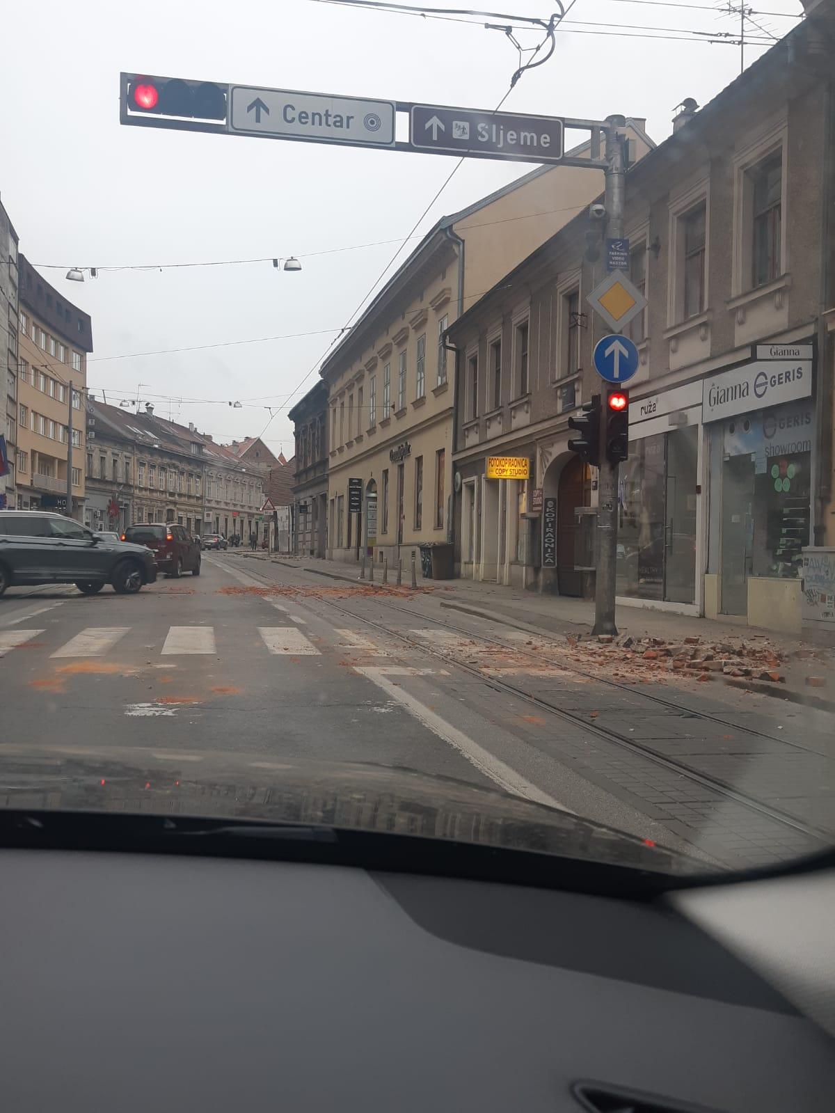 ZAGREPČANI U STRAHU Strašan podsjetnik na tragediju iz ožujka!
