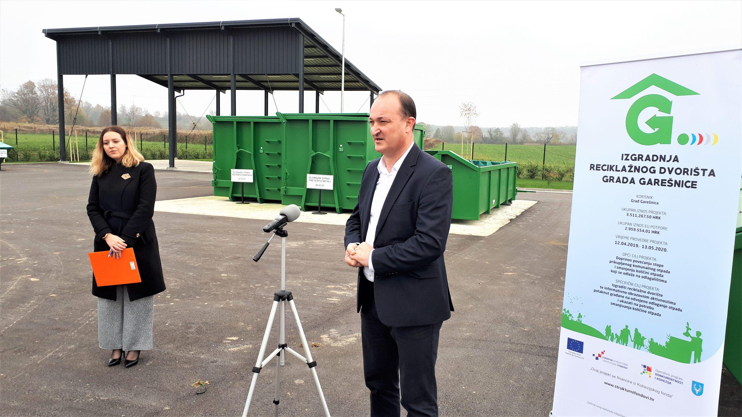 GOSPODARENJE OTPADOM Otvoreno je i drugo reciklažno dvorište