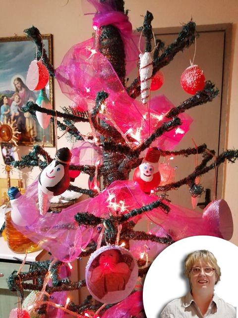 KRALJICA SMEĆA Kreativna Sanja od otpada izradila i božićno drvce!