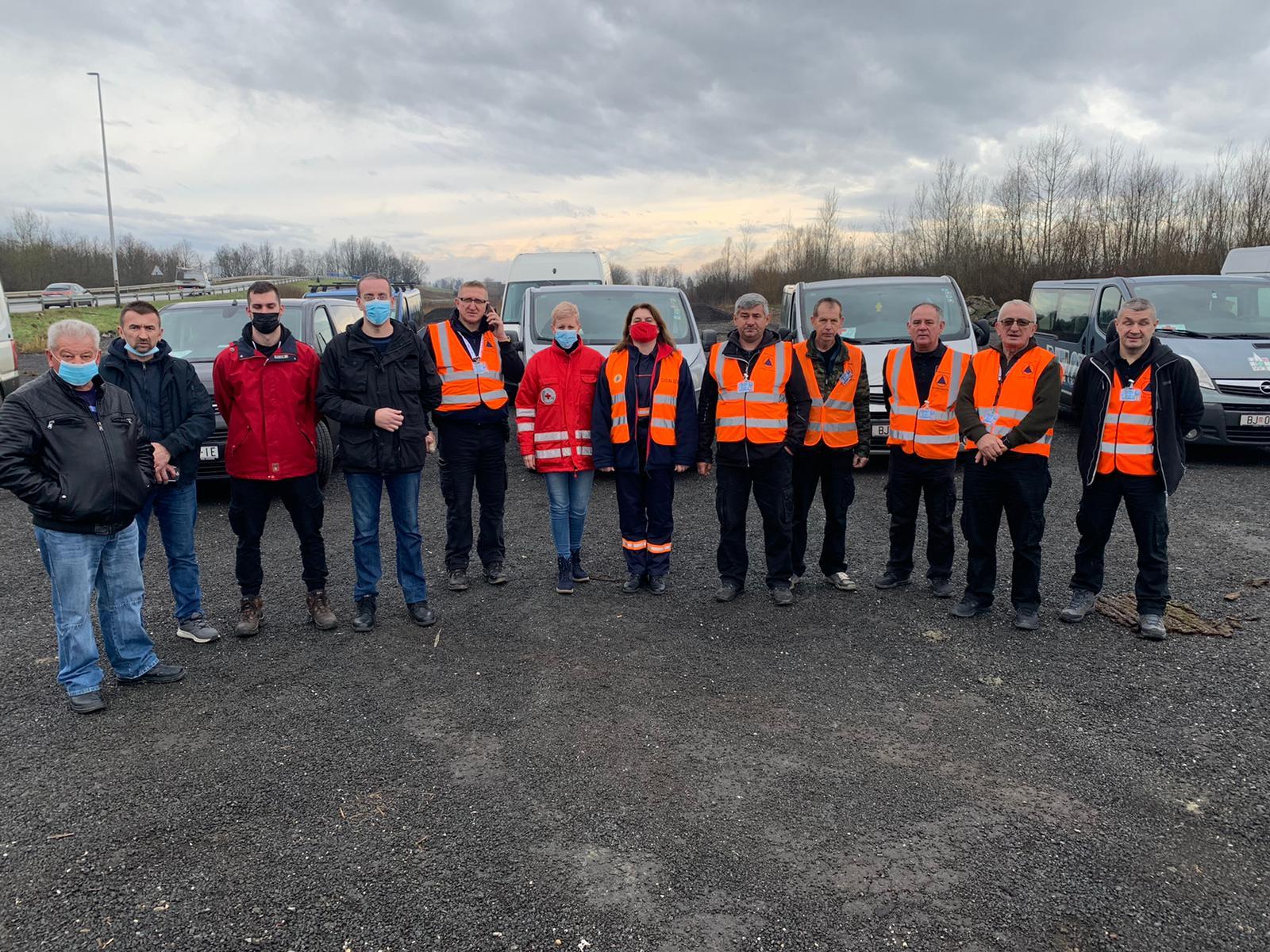 POMOĆ SA SVIH STRANA Stradalima ponuđen smještaj u Bjelovaru, a na putu je i humanitarni konvoj