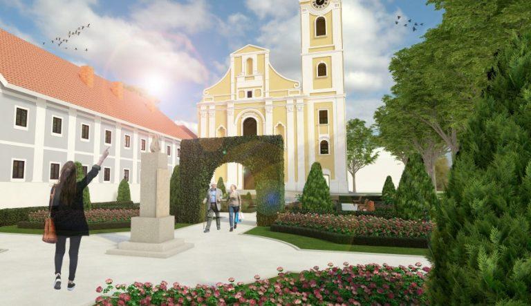 UREĐENJE Virovitica dobiva povijesni vrt i trg ispred crkve sv. Roka