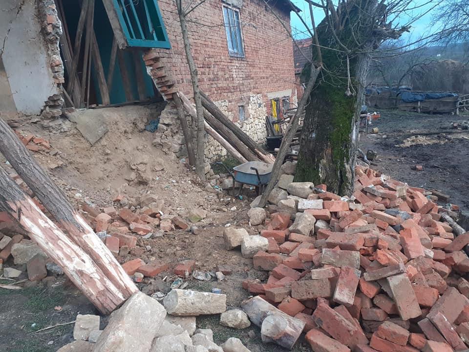 MILIJUNSKE ŠTETE OD POTRESA Na području Đulovca šest osoba ostalo bez krova nad glavom